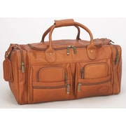 Claire Chase XL Executive Sport 22'' Carry-On Duffel; Saddle
