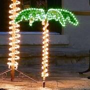 Roman, Inc. Small Ropelight Palm Tree