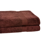 Calcot Ltd. All American Cotton Line Bath Towel (Set of 2); Coffee Bean