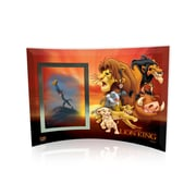 Trend Setters Lion King (Group Collage) Curved Glass Print with Photo Frame