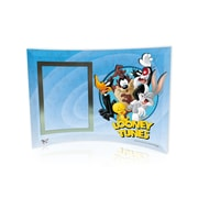 Trend Setters Looney Tunes (Group) Curved Glass Print with Photo Frame