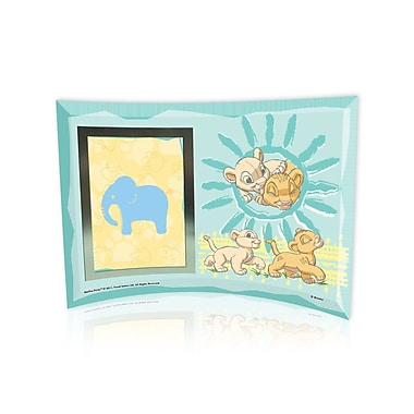 Trend Setters Lion King (Best Friends) Curved Glass Print w/ Photo Frame