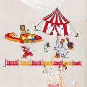 Brewster Home Fashions Euro Circus Wall Decal
