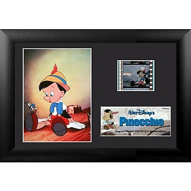 Trend Setters Pinocchio Mini FilmCell Presentation Framed Vintage Advertisement