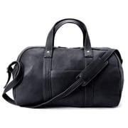 Winn International Colombian 18'' Leather Simplified Duffel; Black