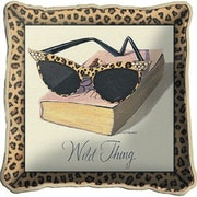 Fine Art Tapestries Wild Thing Throw Pillow