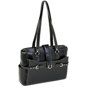 McKlein USA Isabella Ladies' Laptop Tote Bag; Black