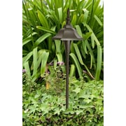 Dabmar Lighting 1 Light Pathway Light; Bronze