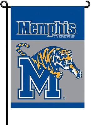BSI Products NCAA 2-Sided Garden Flag Set; Memphis WYF078275869289