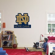 Fathead College Teams NCAA Logo Wall Decal; Notre Dame - ND