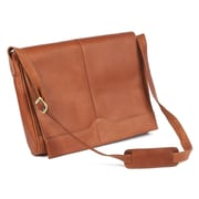 Claire Chase Messenger Bag; Saddle