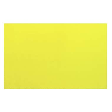 Fun Rugs LA Kids Yellow Area Rug; 4'3'' x 6'6''