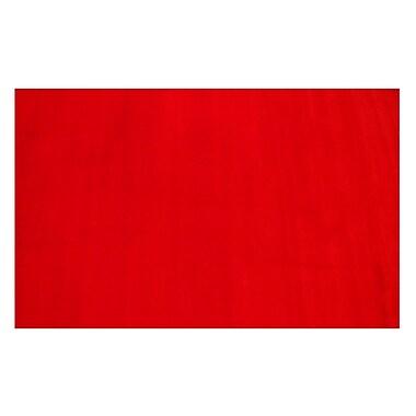 Fun Rugs LA Kids Red Area Rug; 4'3'' x 6'6''