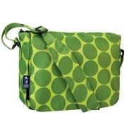 Wildkin Ashley Big Dot Kickstart Messenger Bag; Green