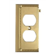 Elk Lighting Clickplates End Socket Plate in Brass