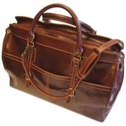 Floto Imports Casiana 21'' Leather Travel Duffel; Vecchio Brown