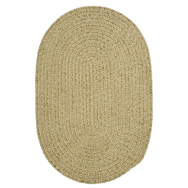 Colonial Mills Spring Meadow Sprout Green Area Rug ; Oval 5' x 8'