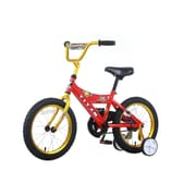 Titan Boys Champions 16'' BMX Bike with Training Wheels; Red