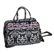 Jenni Chan Damask 20'' 2 Wheeled Carry-On Duffel