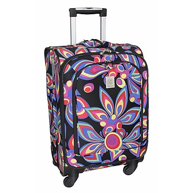 Jenni Chan Wild Flower 360 Quattro 21'' Upright Spinner Suitcase