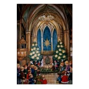 Alexander Taron Large Church and Kids Advent Calendar with Bible Verses