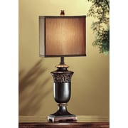 Crestview Lucerne 27.95'' H Table Lamp with Square Shade