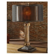 Crestview Montana 31'' H Table Lamp with Drum Shade