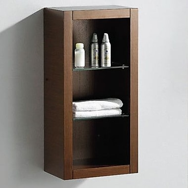 Fresca Fresca 15.75'' W x 30' H Bathroom Shelf; Wenge Brown