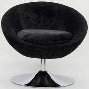 Fox Hill Trading Overman Disc Base Astro Chair; Dark Gray