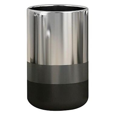 NU Steel Triune Tumbler; Platinum