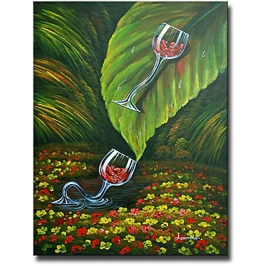 White Walls Jungle Slide Framed Painting Print on Wrapped Canvas