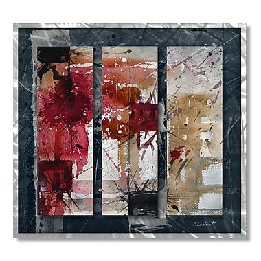 All My Walls 'Charm' by Pol Ledent 3 Piece Painting Print Plaque Set