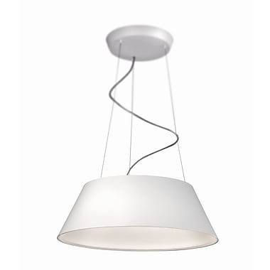 Philips Cielo 4-Light Drum Pendant; White