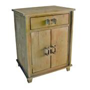 Cheungs Shabby Elegance 1 Drawer 2 Door Cabinet