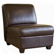Wholesale Interiors Baxton Studio Fleance Leather Slipper Chair