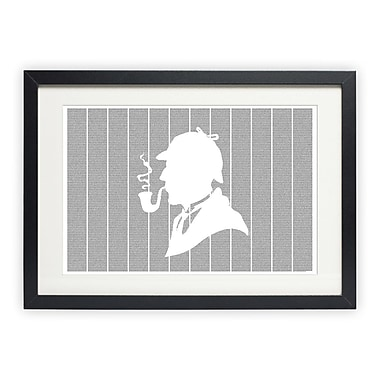Postertext The Adventures of Sherlock Holmes Graphic Art