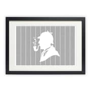 Postertext The Adventures of Sherlock Holmes Framed Graphic Art