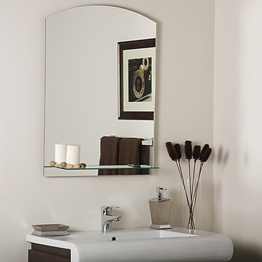 Decor Wonderland Arch Frameless Wall Mirror