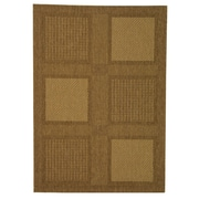 Safavieh Courtyard Large Boxes Outdoor Rug; 6'7'' x 9'6''