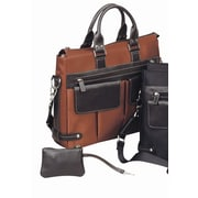 Bellino The Euro Ladies Tote Bag; Rust