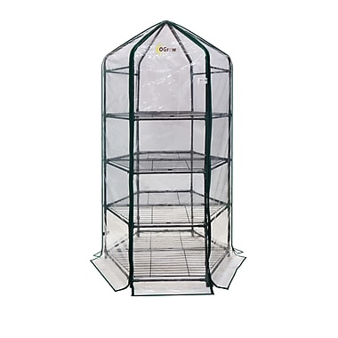 OGrow 3.2 Ft. W x 3.2 Ft. D Growing Rack