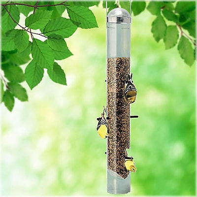 Perky Pet Patented Deluxe Upside Down Thistle Tube Bird Feeder (WYF078276305212) photo