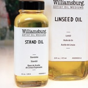 Williamsburg Linseed Oil; 4 Oz