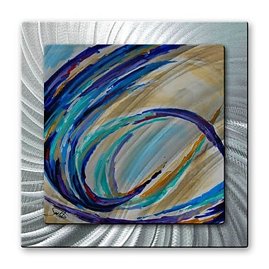 All My Walls 'Color in Motion #1' by Joe Sambataro Painting Print Plaque