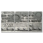 Stupell Industries Industrial USA Triptych 3 pc Graphic Art Plaque Set