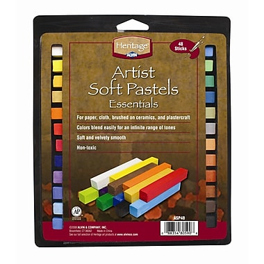 Alvin and Co. Artist Soft Pastels Set (Set of 48)