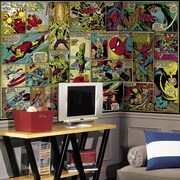 Room Mates Prepasted Marvel Classics Wall Mural