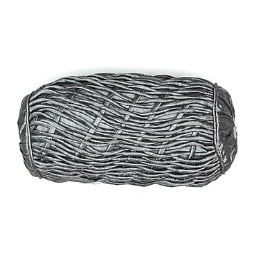 AV Home AV Home Rope Bolster Pillow; Silver