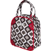 Bumble Bags What's for Lunch? Tote Diaper Bag; Royal Ruby Montage