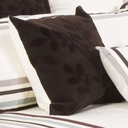Charister Adaire Cotton Throw Pillow; Ivory